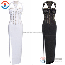 Summer Fashion style sleeveless women clothes ladies cocktail bandage sexy maxi dress