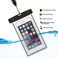 E052 Fluorescence simple and fashion mobile phone waterproof bag,waterproof case for iphone6