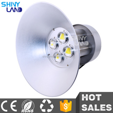 High bright bridgelux cob 200w die cast aluminum led high bay light