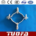 multipurpose overhead line clamp /pole clamp/universal clamp light duty