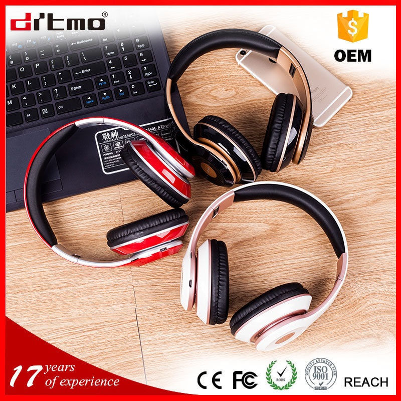 24 hours wireless 3.5mm audio jack bluetooth headset for cell phone