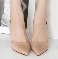 Pretty Steps 2014 nude chinese girls photos Pointed toe shoe women mid high heels fashion lady dress party shoes wholesale