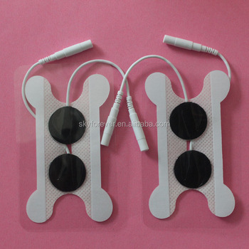 swallow electrode pads for tens throat care tens electrides
