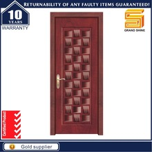 Steel security wroght iron safety door design with grill