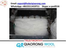 100% sheep wool top roving , natural sheep wool for wool felt