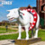 Indoor amusement park decoration cow fiberglass