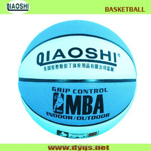 custom size 7 inflatable rubber basketball
