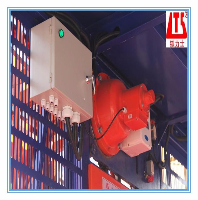 HONGDA Frequency Conversion SC100 100 1t Construction Elevator Double Transfer motors Made in China