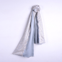 High quality women cashmere exquisite wool lace scarf