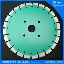 Silent cutting concrete saw blade cured concrete hole saw
