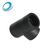 Exquisite workmanship HDPE 18' tee reducing pipe joints for sale