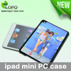 Blank sublimation plastic case for iPad mini