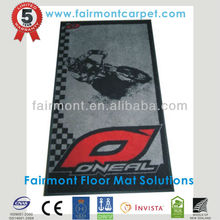 Rubber Back Washable Rugs And Mats, Logo Mat,