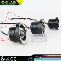 Universal DC12V 3.5 inch 89mm 30W COB LED Auto Fog Lamp with inlay halo for all cars