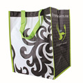 low price popular design laminated strong printed pp woven shopping bag
