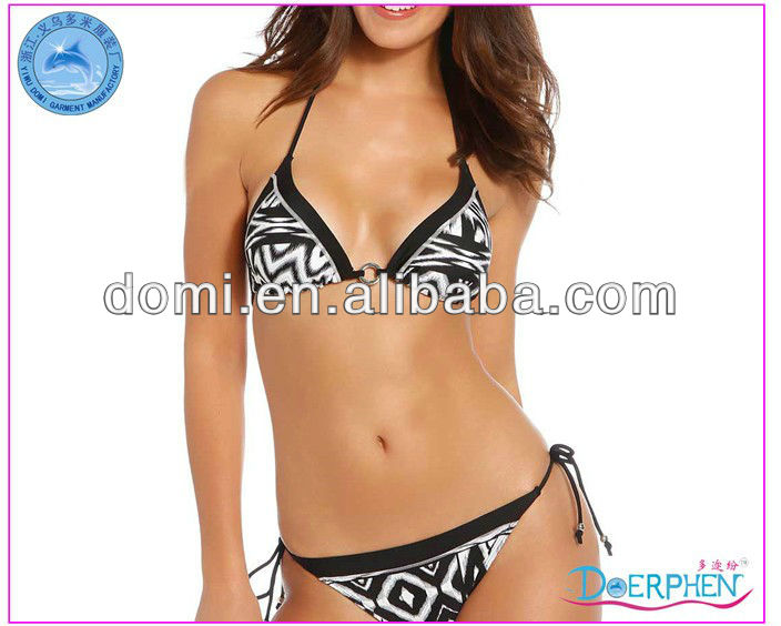 YIWU DOMI New Design Sexy Charming Bikini Swimwear/2014 xxx Hot Sex Bikini Young Girl Swimwear Photos