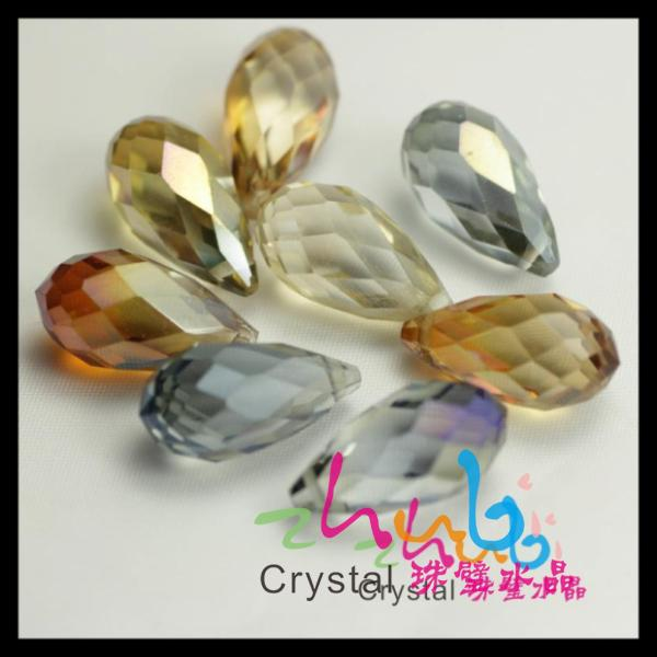 Wholesales crystal waterdrop <strong>pendant</strong> for jewelry making
