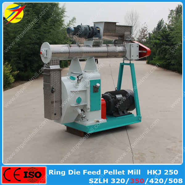 Hot Selling Ring Die Soybean meal Animal Feed Pellet Mill Machine