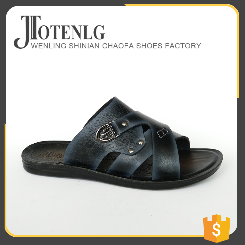2017 New Men pvc <strong>slippers</strong> Sandals Fashion Flip Flop Strap Shoes PU Sole Man <strong>Slipper</strong>