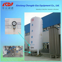 high quality cryogenic storage tank/liquid nitrogen pressure vessel