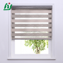 day night sun shade waterproof zebra roller blind, window blind