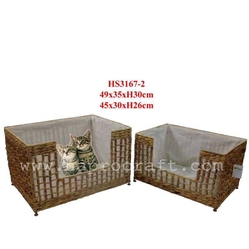 Handicraft pet products/Pet beds/Pet cage (HS 3167/2)