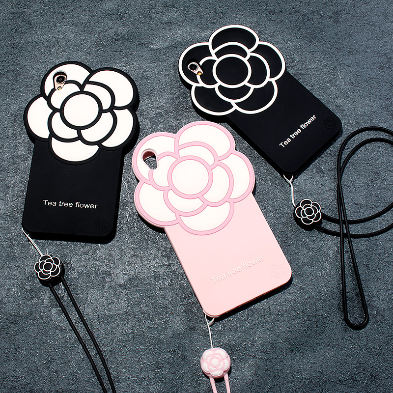 OEM new 3d rubber cell phone case for mobile phone accessory
