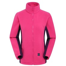 Outdoor Double Layer Windproof Skiing Shell Jacket Winter Electrical Heating Jacket