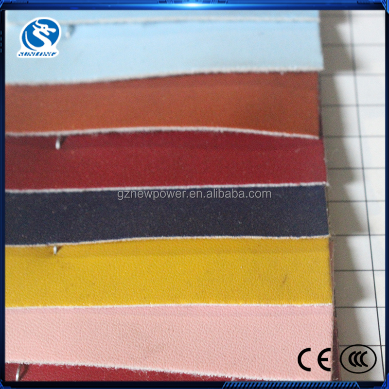 Cheap price pvc clemence lychee leather