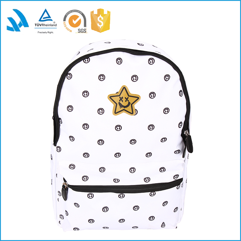 ladies fancy fashion backpack bag for primary school