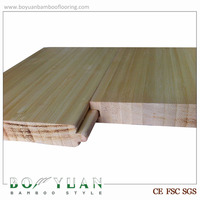 BY tongue and groove wood appearance natural vertical solid bamboo flooring