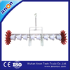ANON hot sale 8 row easy operation manual seed planter