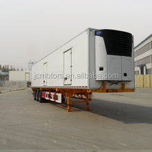 Popular 3 axles refrigerated cargo trailer with low price