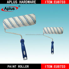 civil construction texture blue and white stripe paint roller brush/pattern paint roller brush/texturing walls rollers