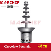 Large 6 Tiers Commercial Chocolate Waterfall Fountain_Industrial Chocolate Fountain Machine