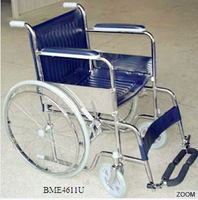 "HOT HOT HOT!!!24""Spoke driving wheel with solid grey tires wheelchair in pakistan BME4611U"