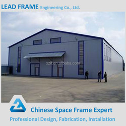Prefabricated steel structure workshop with two story building