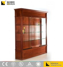 Ultra Clear Tempered Glass Museum Display Cabinets