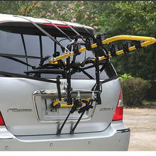 High Quality Carbon Steel Car Mounted 3 Bicycle Rear Carrier Rack Car Bike Rack Carrier