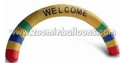Cheap inflatable entrance event arch for promotion N4054