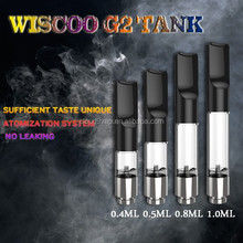 Manufactuer slim 9.2mm CBD oil atomizer refillable cbd/co2/thc oil avaliable for LAB,510 thread 280 mah battery