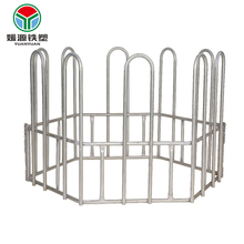 Wholesale hot dip steel or oval tube livestock panels pipe used galvanized fencing