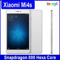 "Original Mobile Phone Xiaomi Mi4s Mi 4s 3GB RAM 64GB ROM Snapdragon 808 Hexa Core 5.0"" 1920x1080P 13MP Fingerprint ID MIUI 7"