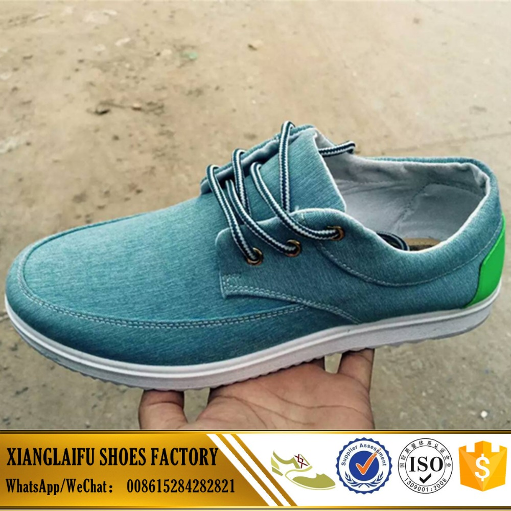 China factory cheap pvc injection shoes canvas shoes men loafer shoes