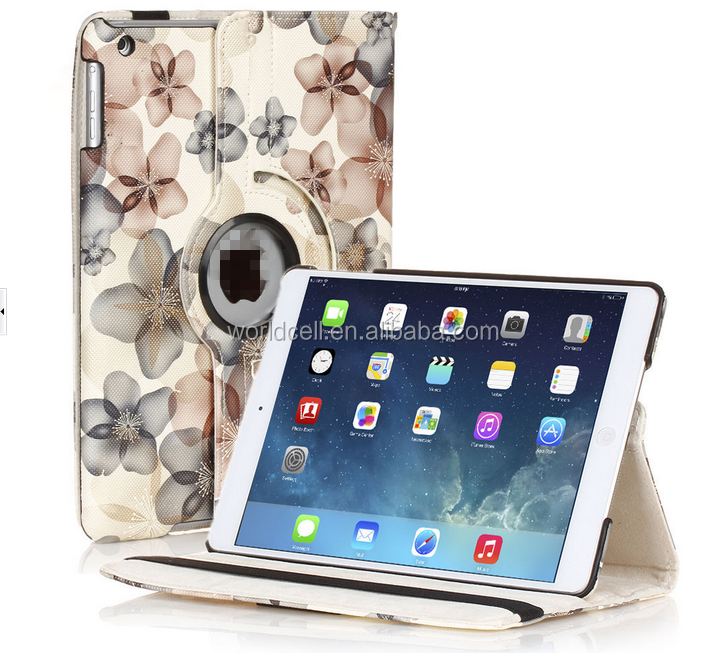customized printing colorful tablet cover for ipad Air 2