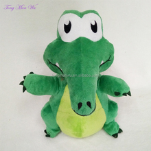 new design talking 25cm green dinosaur plush toys