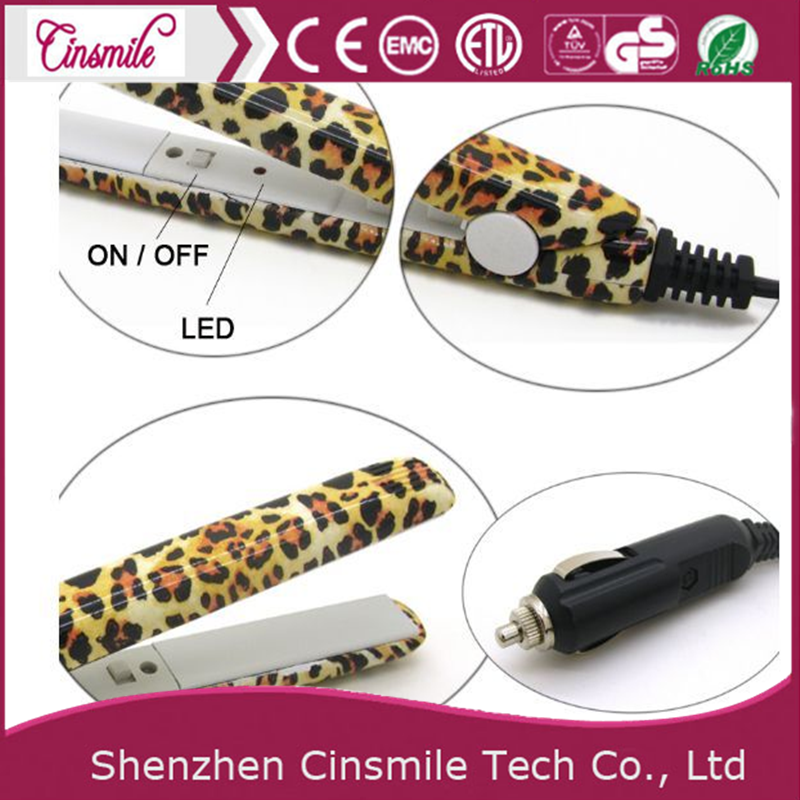 2017 Portable Mini ceramic flat iron hair flat iron car Hair Straightener JD-160/166/168