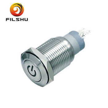 Electrical Push Button Switch On Off IP65 Push Switch On Off LED Momentary Switch