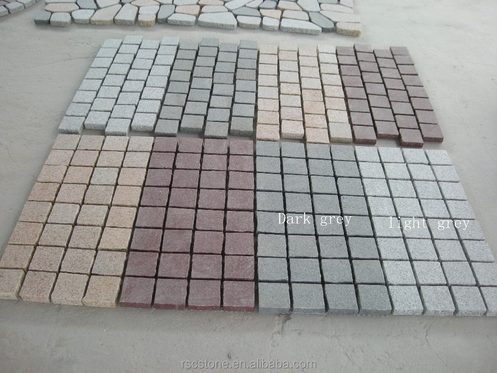 China natural granite 30x30 stone paver for sale