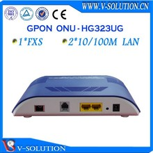 V-solution 1fxs + 2fe onu optic fiber voip ftth gpon ftth ont equipment
